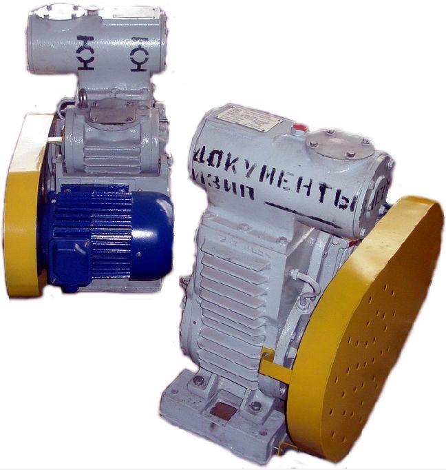 Насос АВЗ 20Д вакуумный золотниковый