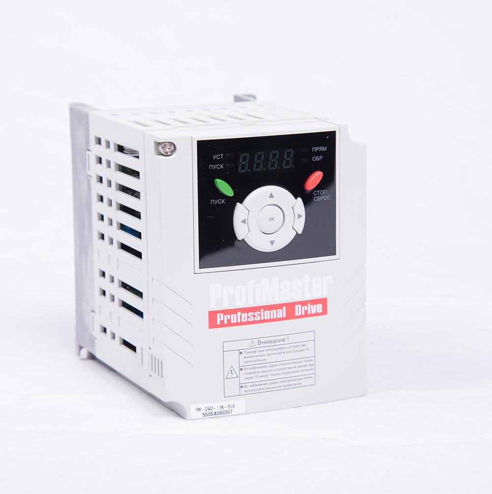 Преобразователь частоты PM-G540-1,5K-RUS (1,5 кВт)