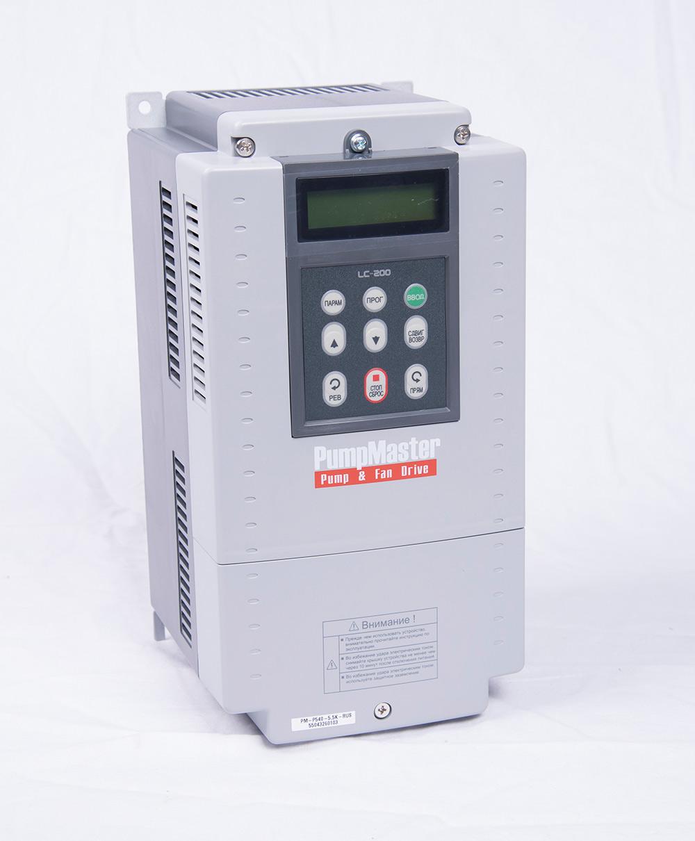 Преобразователь частоты PM-P540-5,5K-RUS(NEW) (5,5 кВт)