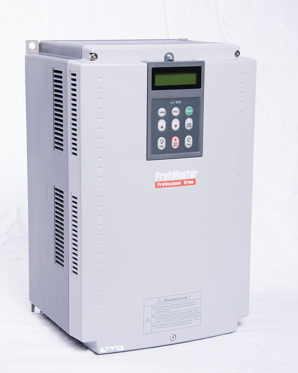 Преобразователь частоты PM-P540-18,5K-RUS(NEW) (18,5 кВт)