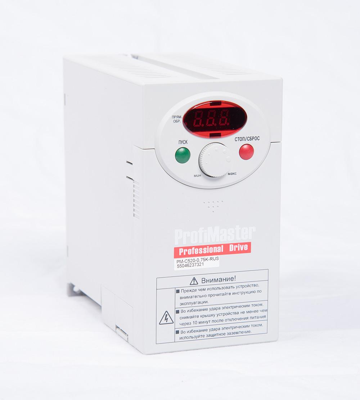Преобразователь частоты PM-C520-0,75K-RUS (0,75 кВт)