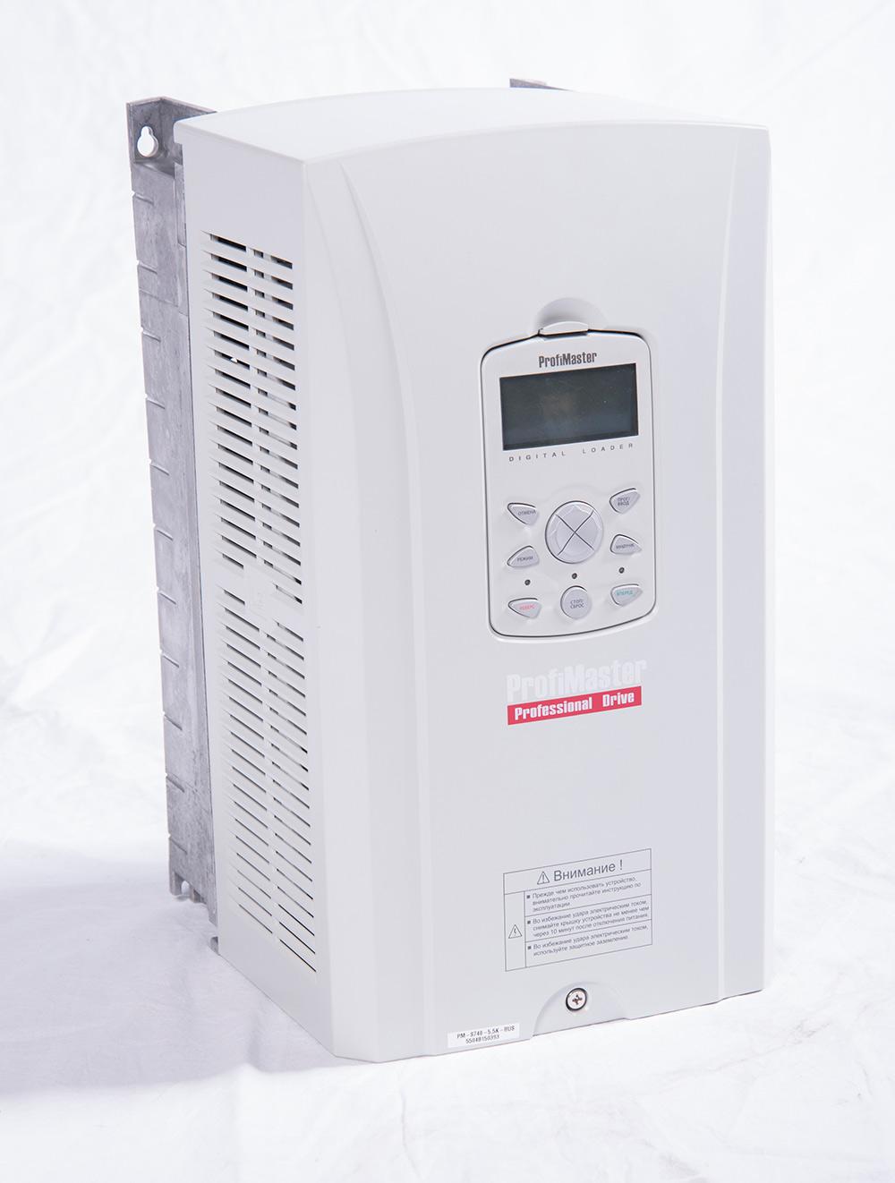 Преобразователь частоты PM-S740-5,5K-RUS (5,5 кВт)